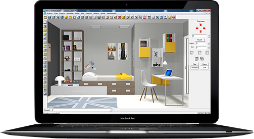 Programa de dise o de muebles 3d deco design aca espa a for Programa diseno muebles online